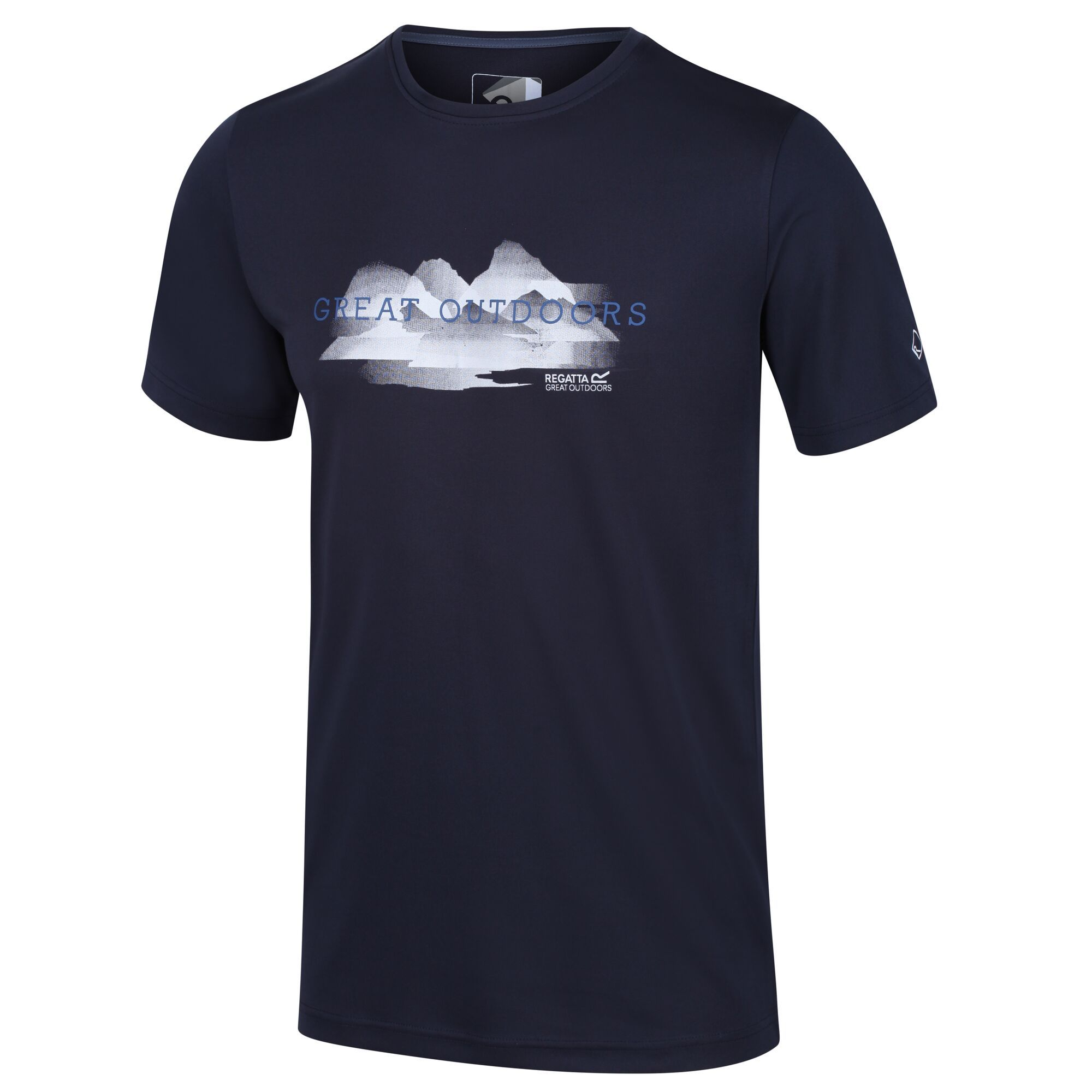 Regatta Fingal V - Herren Funktions-T-Shirt navy