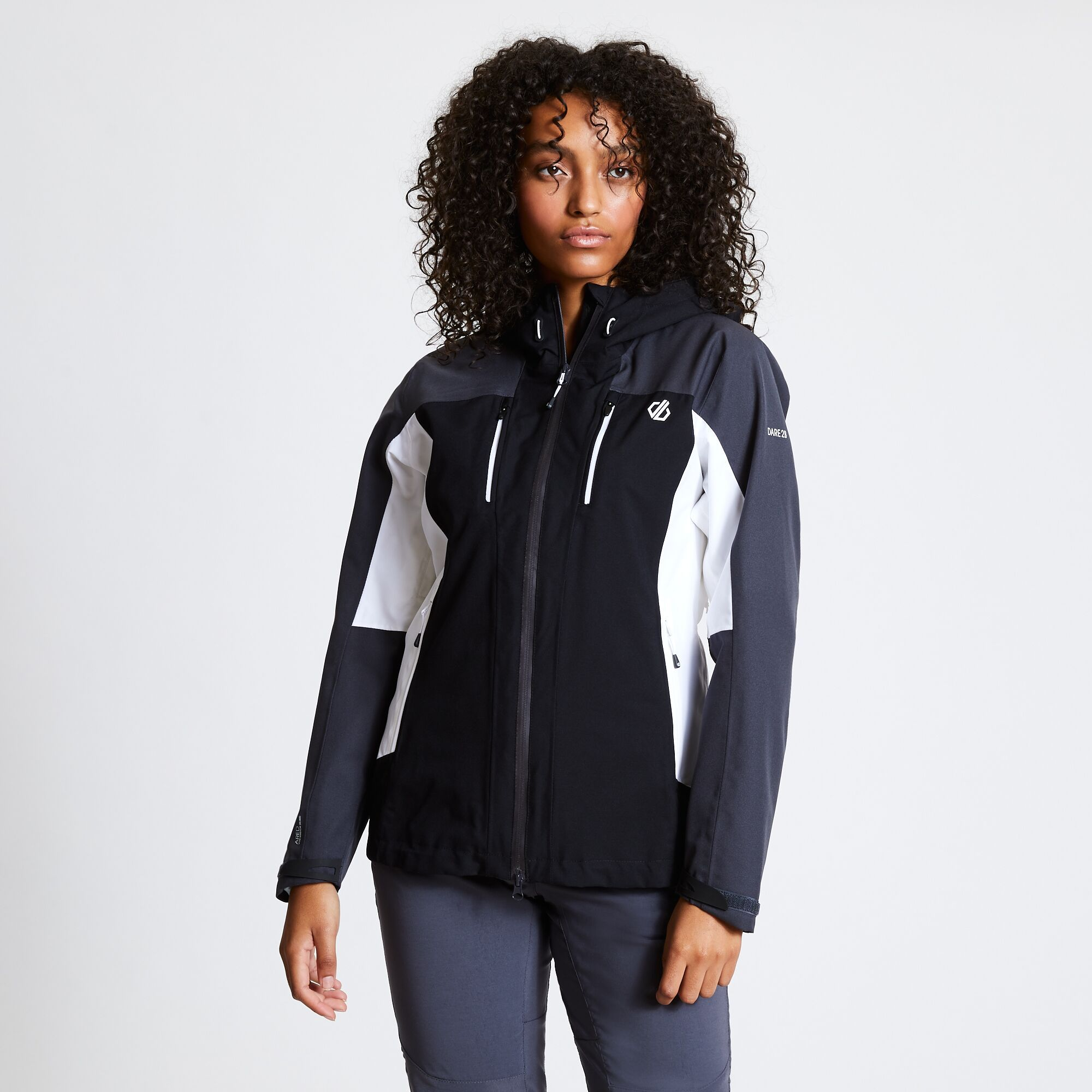 DARE2B Immense Jkt. - Damen Outdoorjacke wasserdicht schwarz