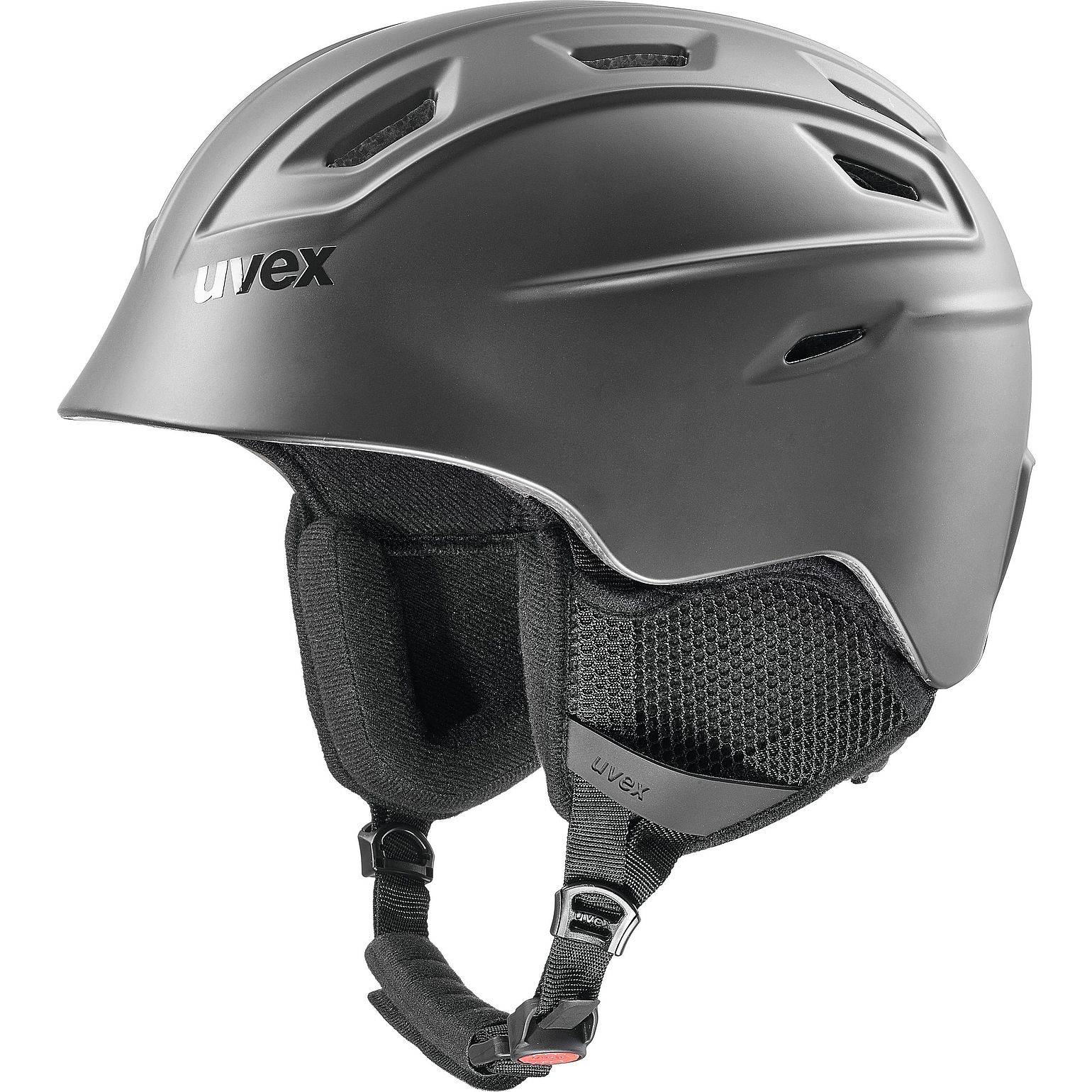 Uvex fierce Skihelm black mat