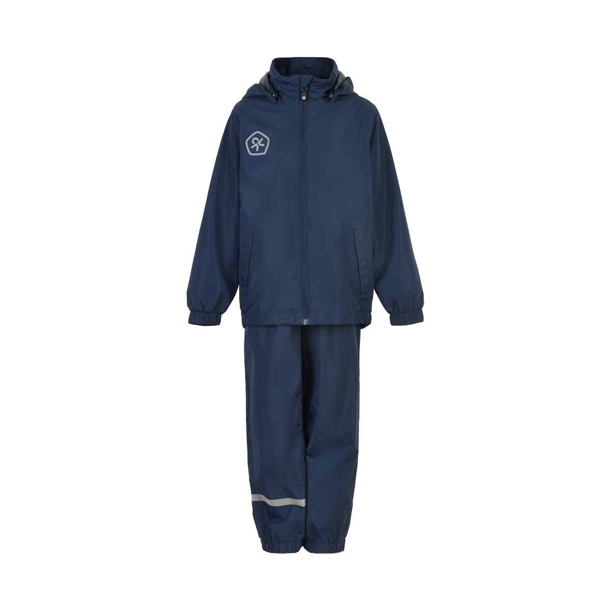 Color Kids Rain Set - Kinder Regenkombi marine