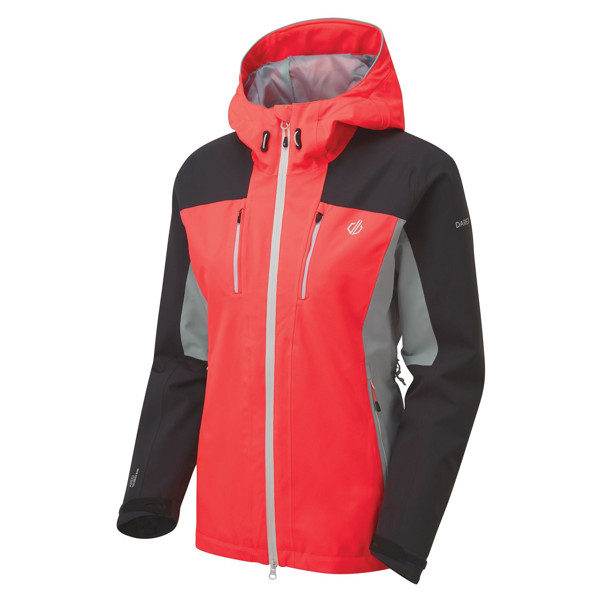 DARE2B Immense Jkt. - Damen Outdoorjacke wasserdicht orange