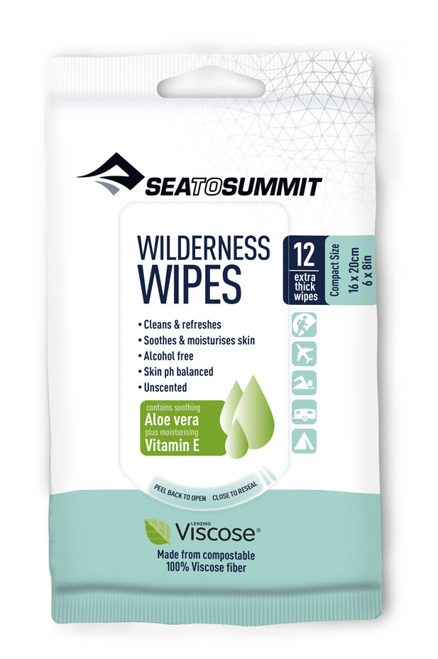 SEA TO SUMMIT Wilderness Wipes Compact - Hygienetücher