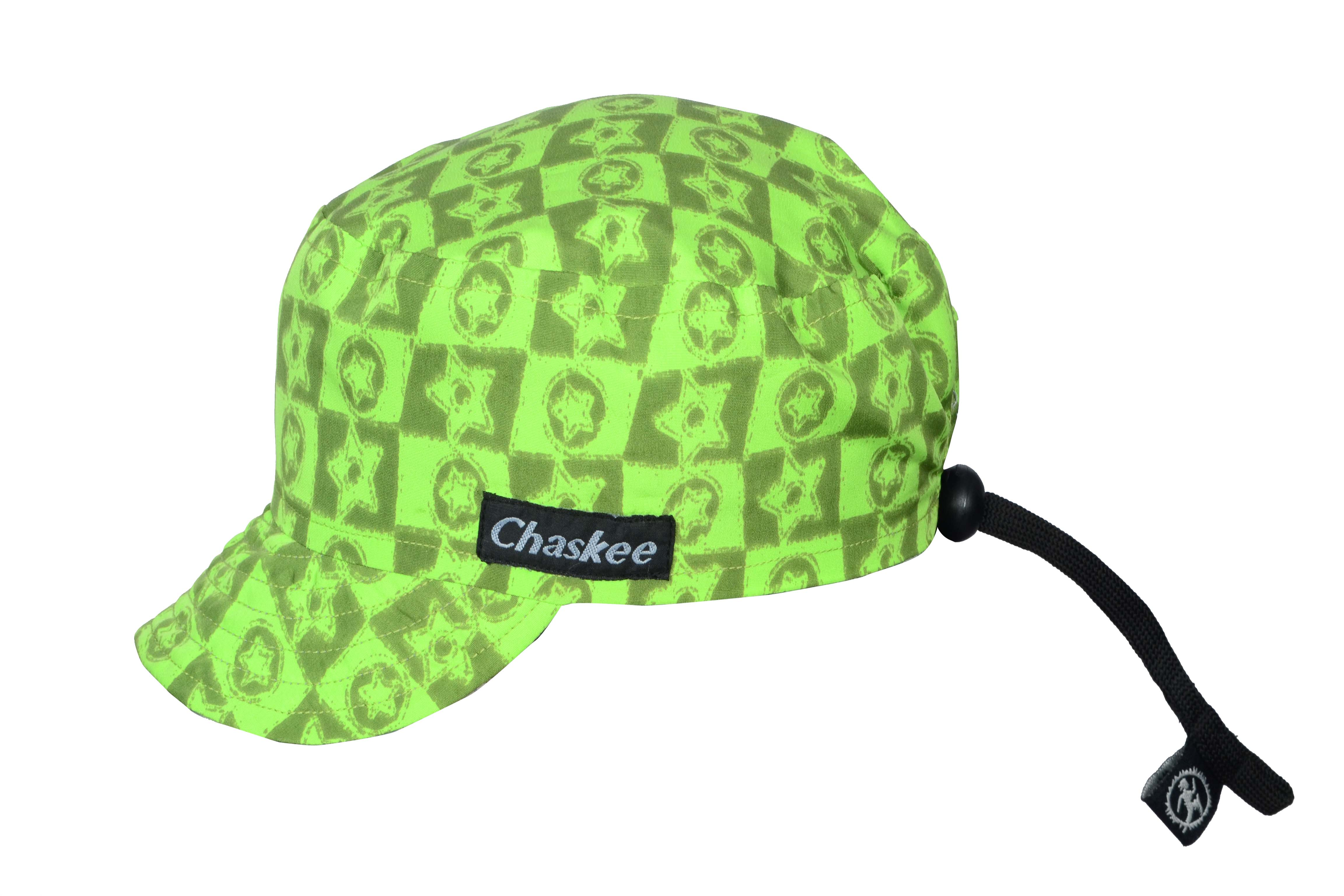 Chaskee Junior Rev Cap - Kinder Wendekappe grün
