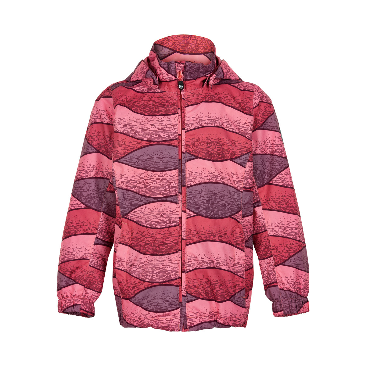 Color Kids Elisabeth Jkt. - Kinder Regenjacke desert rose